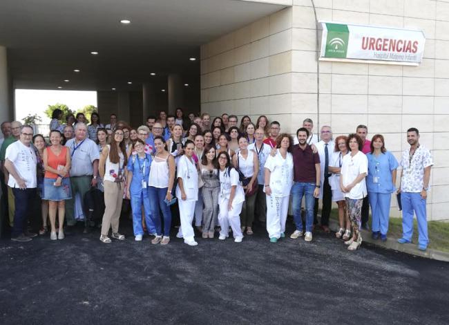 La Comisión para la puesta en marcha del Hospital Materno Infantil visita el edificio