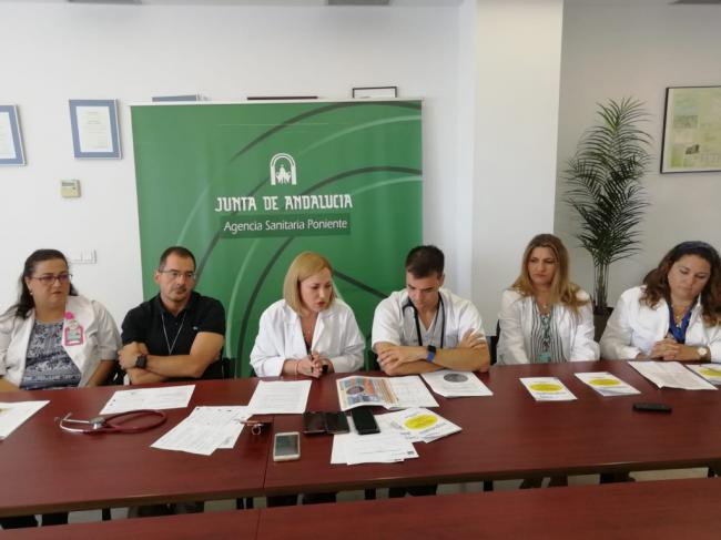 El Hospital de Poniente impulsa un 'Plan de Visita Responsable'