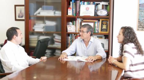 Ayuntamiento de Adra y ONCE fortalecen su vínculo