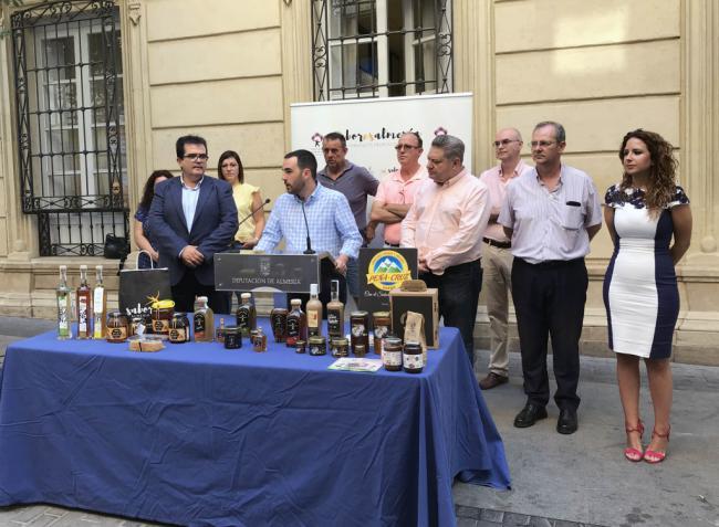 Ayuntamiento y 'Sabores Almería' presentes en la Feria