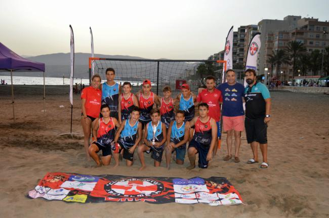 El balonmano llega a la playa con el Torneo CD Urci Almería
