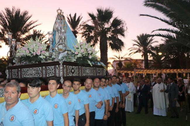 Misa y procesión de la Virgen de Las Mercedes de Balerma