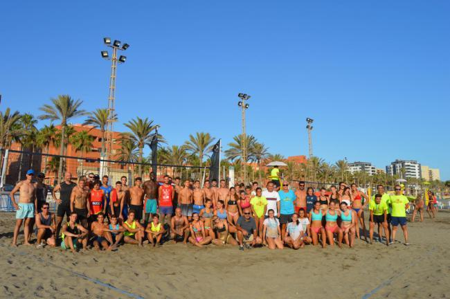 El voley playa se viste de Feria en El Palmeral con el Torneo del C.D Mintonette