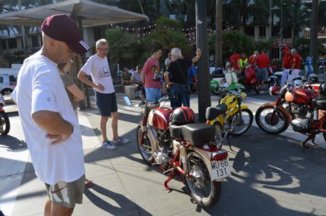 La historia de la motocicleta se pasea por #AlmeríaenFeria