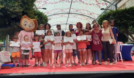 Más de 160 niños plasman su visión de la Feria en el XXV Concurso de Dibujo Infantil
