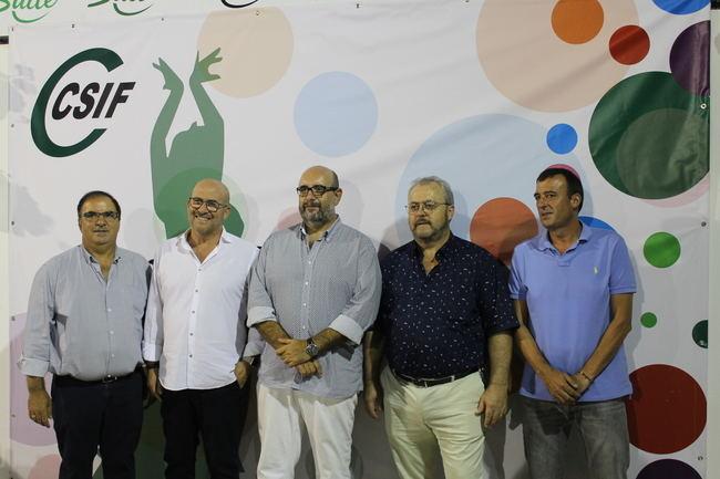 200 personas arropan a CSIF en su tradicional cena de Feria