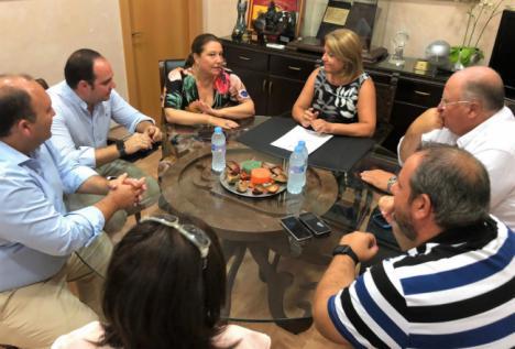 La Junta estudiará la situación de los colectores de aguas residuales en Gádor