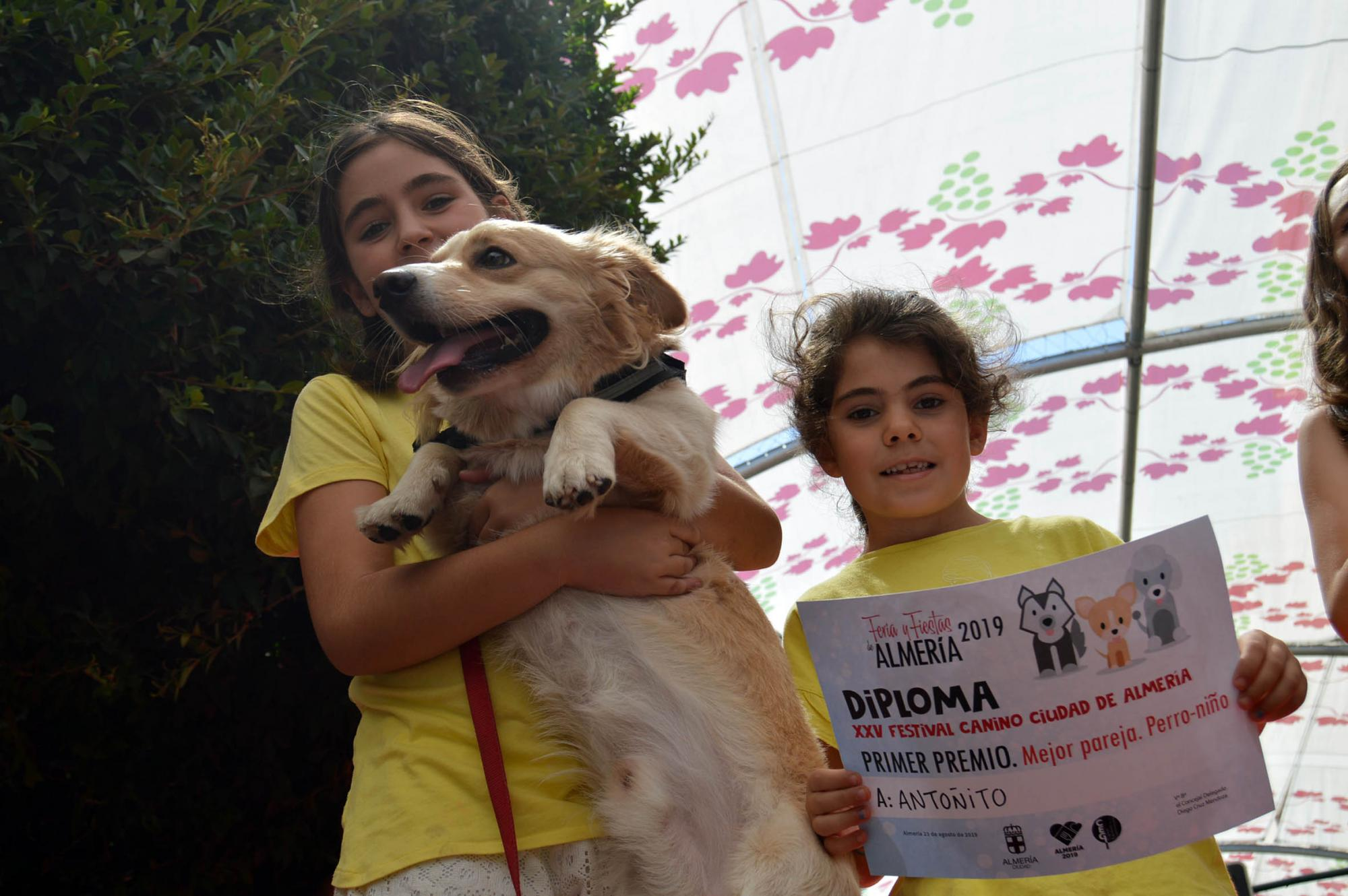 """Los perros más """"guau"""" en el XXV Festival de #AlmeríaEnFeria"""