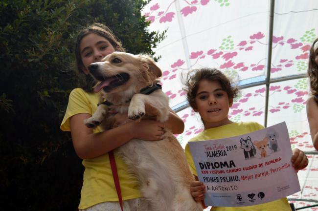 Los perros más 'guau' en el XXV Festival de #AlmeríaEnFeria