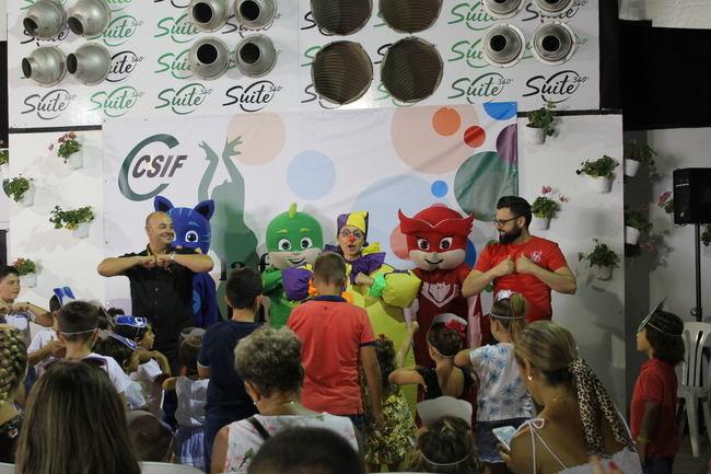La música y los PJ Masks ponen la diversión en la Fiesta Infantil de CSIF