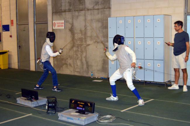 El II Torneo de Esgrima promociona el deporte en #AlmeríaEnFeria