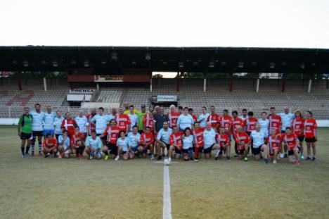 Almería celebra el primer partido de rugby inclusivo