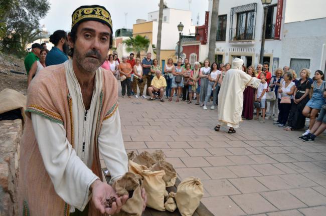 El sabor del pasado árabe de Almería en la visita teatralizará