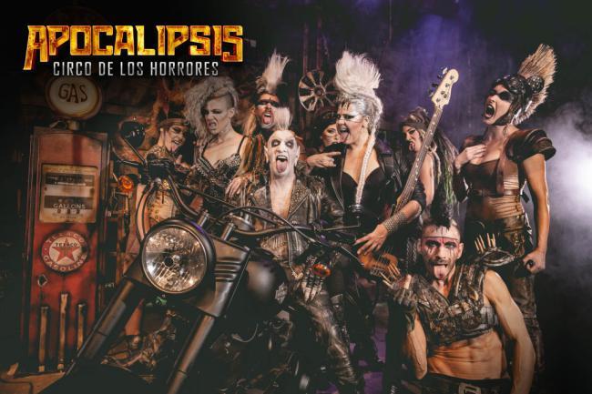 El 'Apocalipsis' del Circo de los Horrores llega a Almería en septiembre