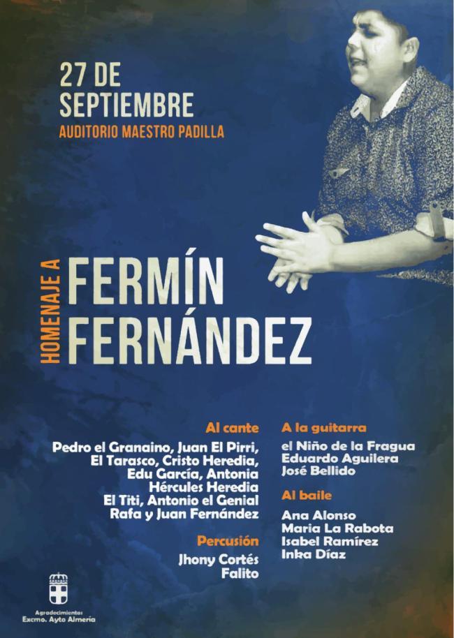 Homenaje póstumo al joven cantaor Fermín Fernández