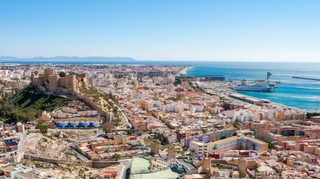 Visita guiada panorámica a Almería para el 7 de septiembre