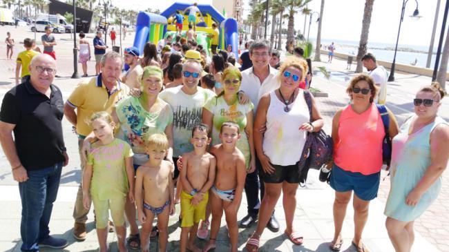 La 'Gran Holly Party' hace disfrutar los abderitanos en la cuarta jornada de Feria