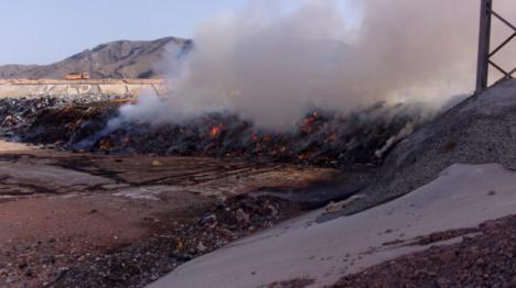 """Dos investigados por el incendio del paraje """"Marchal de Araoz"""" de Gádor"""
