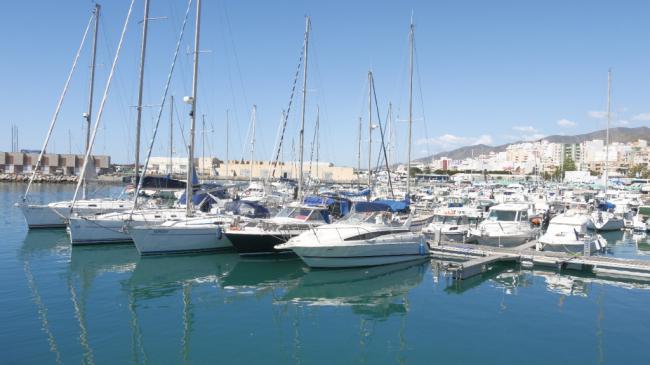 El Puerto de Adra y el Real Club Náutico se exhiben en Reino Unido