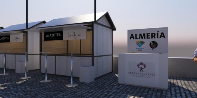 Almería 2019 se promociona en la Avenida del Sabor y en la Feria de Andalucía Sabor