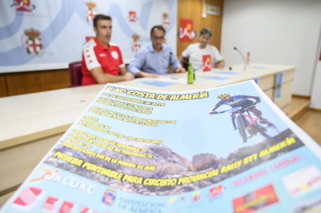 Apasionados por el ciclismo de montaña disfrutarán del Rally BTT XC Costa de Almería
