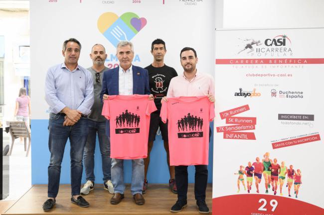 Deporte y solidaridad en la II edición de la Carrera Popular de CASI