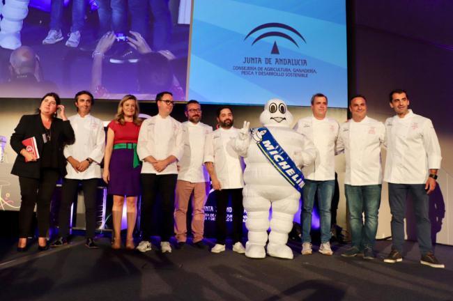 Andalucía Sabor acoge a los chefs encargados de la Guía Michelin España&Portugal 2020