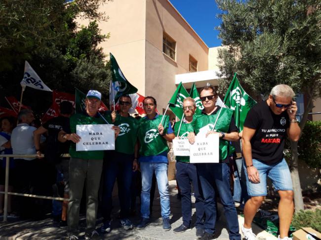 CSIF no participa en la festividad del Día de la Merced