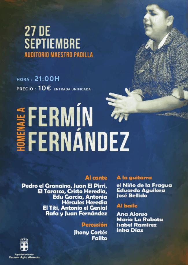 El flamenco sonará en homenaje a Fermín Fernández