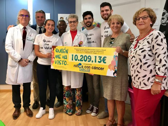 La Hermandad Virgen de los Perdones dona más de 10.000 euros a la Asociación Argar