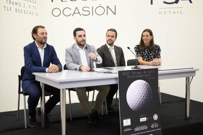 El VIII Torneo de Interalmería TV acogerá a 120 deportistas en el campo de Alborán Golf