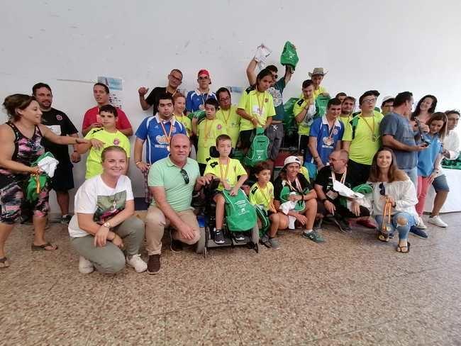 Éxito del III Campeonato de Andalucía de petanca FANDDI en Adra