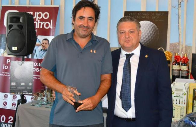 Lucas González Navarrete, campeón Scratch en el VIII Torneo de Golf de Interalmería TV