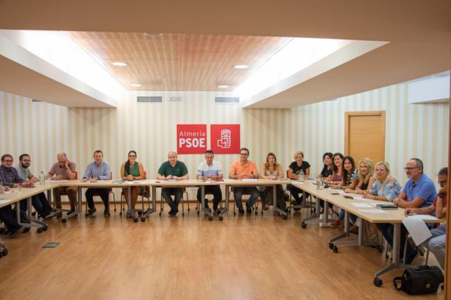 El PSOE de Almería constituye su comité de campaña