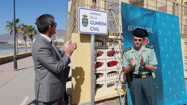 La Guardia Civil de Almería desarrolla los actos de su 175 aniversario en Adra