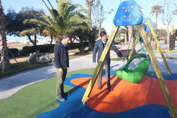 Nuevo parque de 1.000 metros cuadrados en la zona Levante de Almerimar