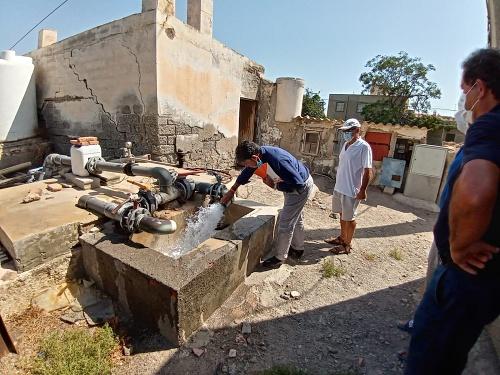 """Cazorla: """"Animo a los almerienses a alegar masivamente contra el 'tarifazo' del agua"""""""
