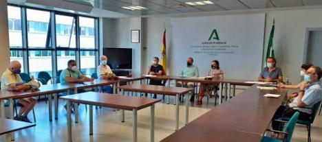 La Junta estudia mejoras en los caminos Mozárabe y del Argar