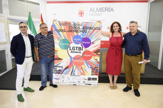 Almería celebrará su semana del Orgullo LGTBI del 25 al 30 de junio