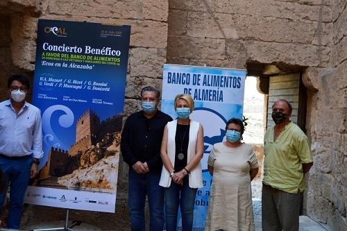La Alcazaba acogerá un concierto benéfico de la OCAL a favor del Banco de Alimentos
