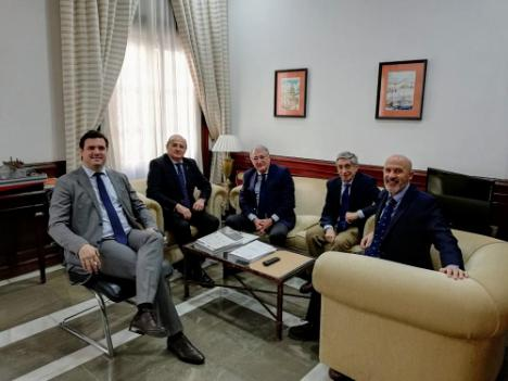 Almería y Melilla analizan la próxima Operación Paso del Estrecho