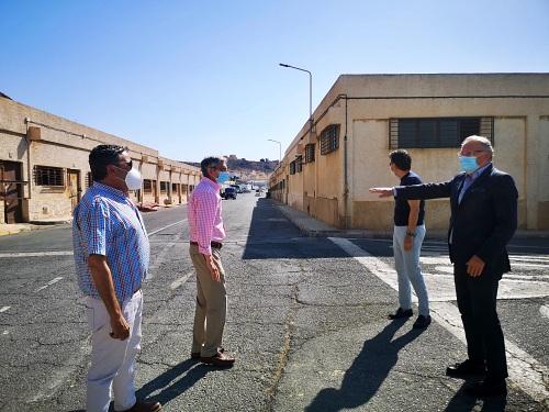 La APA urbanizará la zona de las viejas naves del Puerto Pesquero
