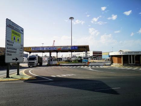 El Puerto de Almería ampliará la puerta Pescadería para dar más fluidez