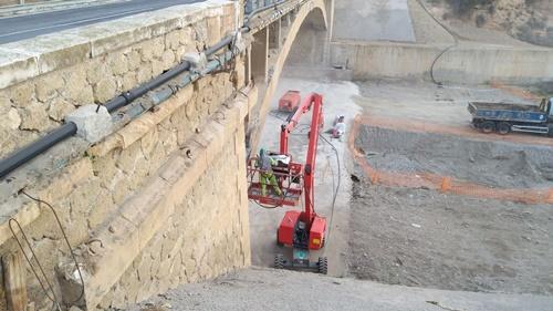 El lunes comienza la rehabilitación del Puente del Río