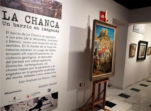 'La Chanca. Un barrio en imágenes' prorroga su estancia en Doña Pakyta