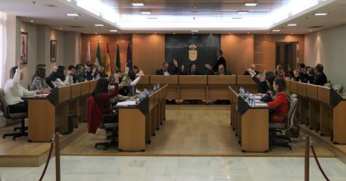 El Pleno de El Ejido se une en la defensa del futuro del sector hortofrutícola