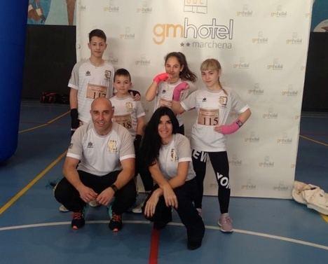 Elena García logra la medalla de oro en el Campeonato de Andalucía Escolar de Boxeo Formas
