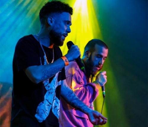 El rockero almeriense Brasi y el rapero MC Seab en Solazo Fest