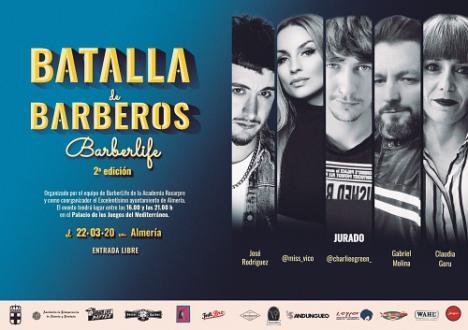 La II 'Batalla de Barberos' llegará al Palacio de los Juegos el 22 de marzo