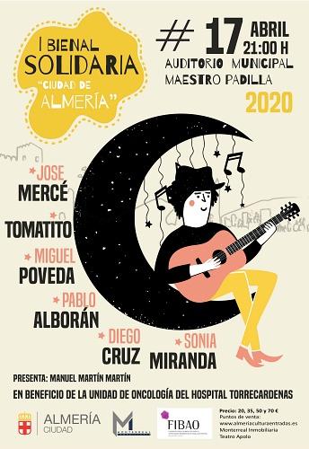 Bienal Solidaria en el Auditorio a beneficio de la Unidad de Oncología de Torrecárdenas